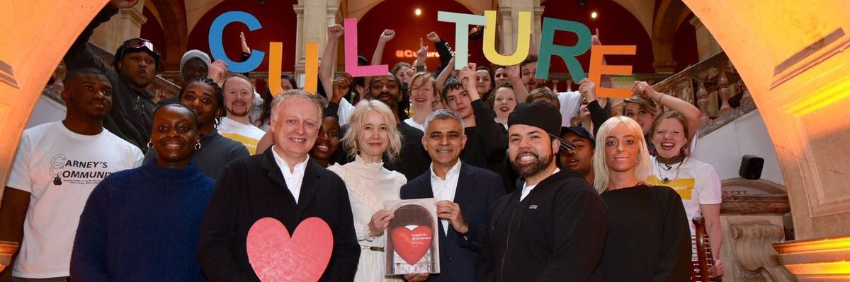 Sadiq Khan launches culture strategy