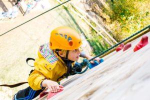 Hindleap Warren climbing wall