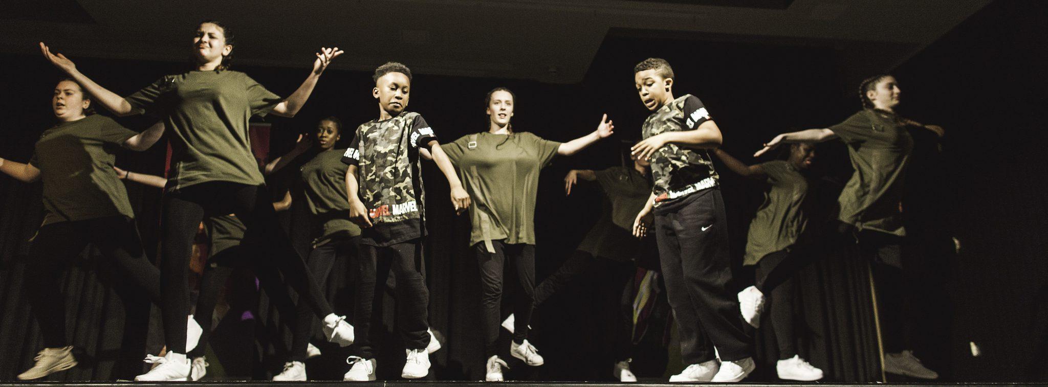 Dancing at London Youth Awards