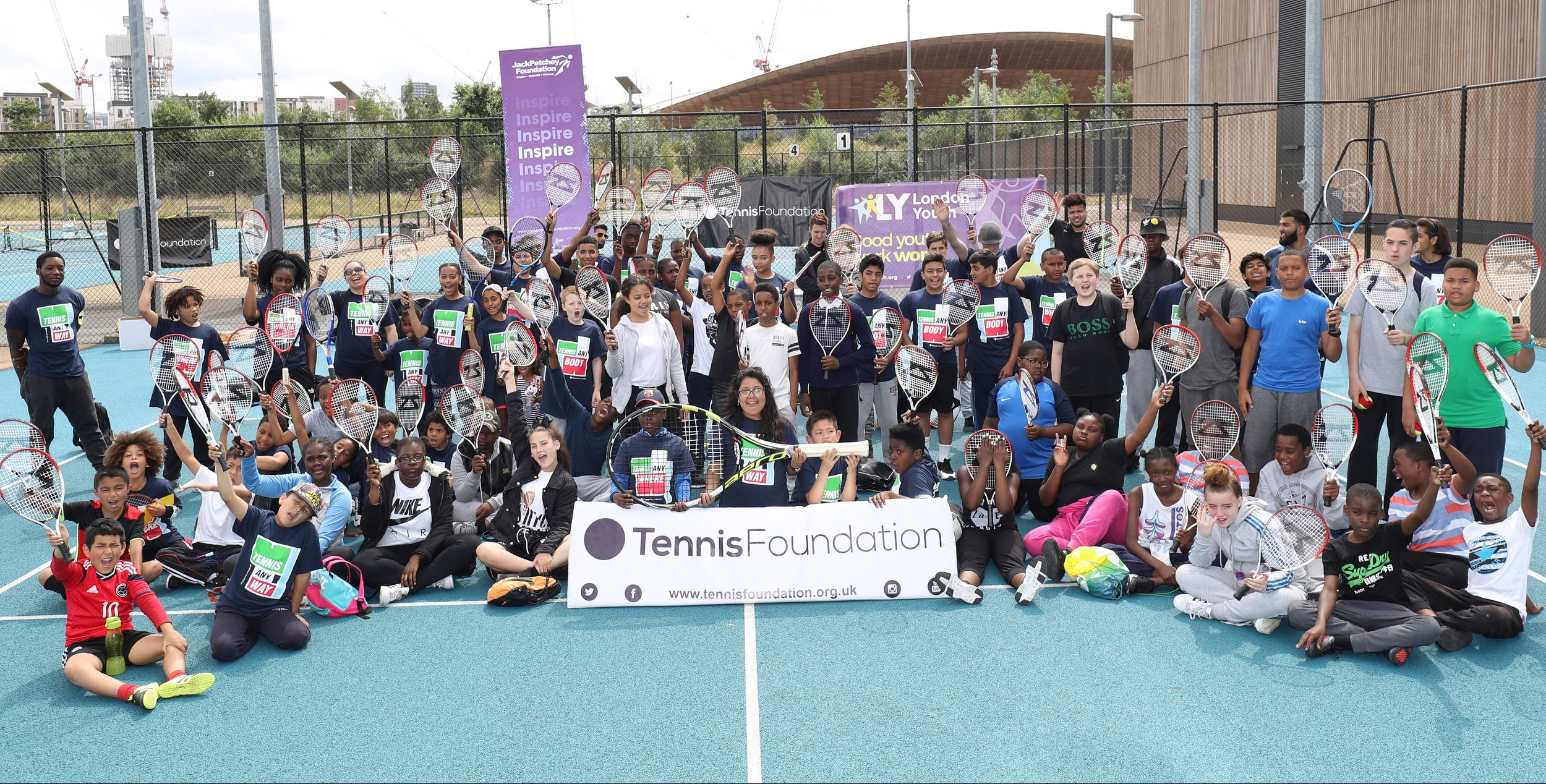 Tennis Festival group shot