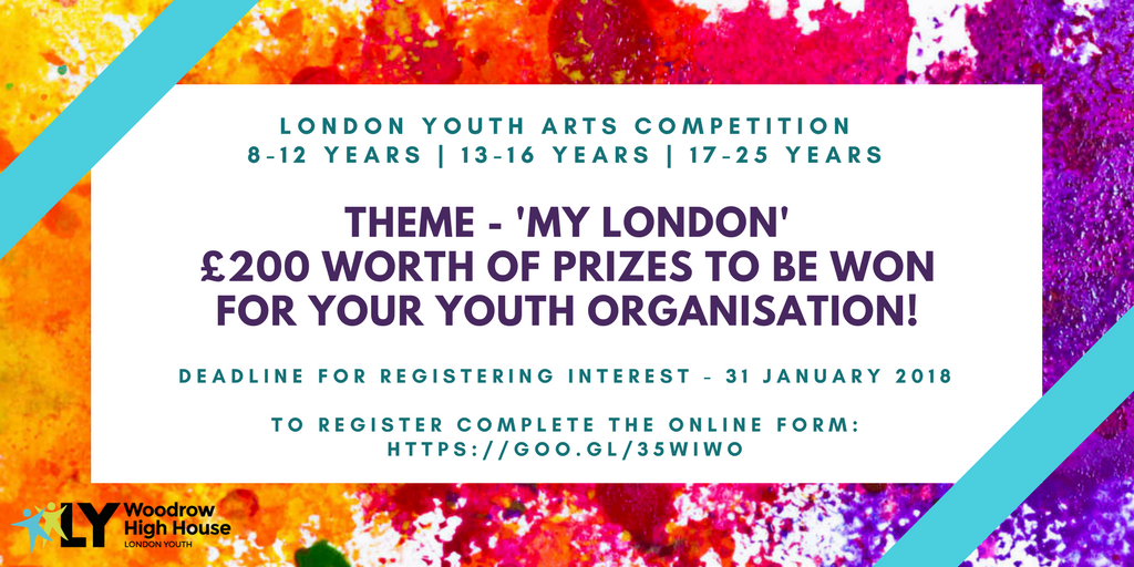 Woodrow Arts Competition Flyer