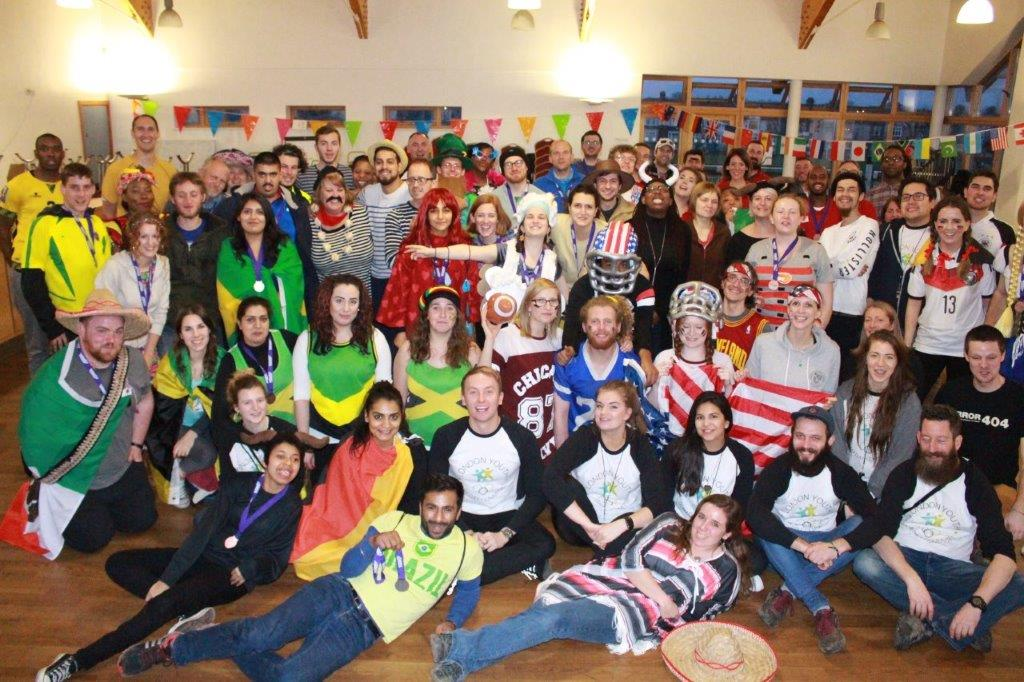 London Youth Staff Group Photo