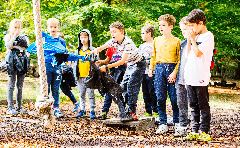 children at Hindleap