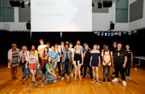 Some of the Young Culture Makers participants from this year.