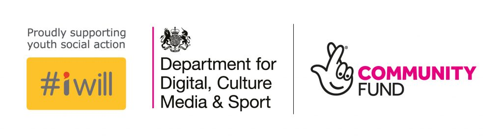Active leads funder logos: DCMS, Iwill, National Lottery Community fund