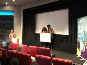 Young people receive funding at social action pitch event