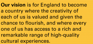 Arts Council England vision