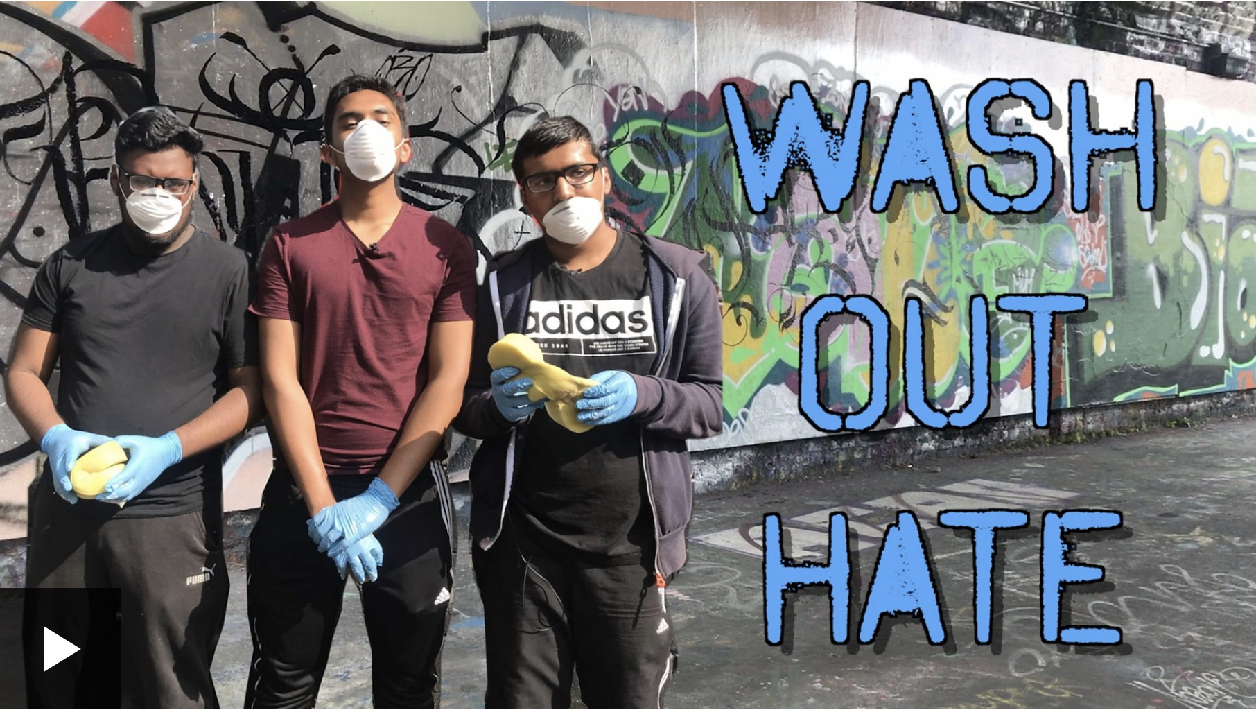 Wash out hate image