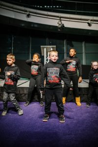 young people - dance group at London Youth Awards